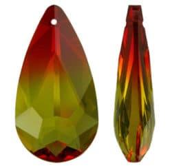 Multi Colour Teardrop (6100)