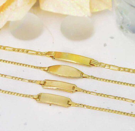 Engravable ID Bracelets