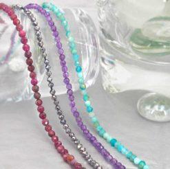 Gemstone Beads (2-2.5mm)