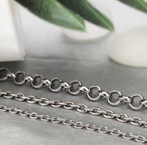 Silver with Oxidized