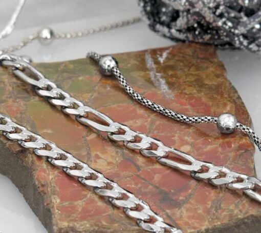 Silver With Rhodium